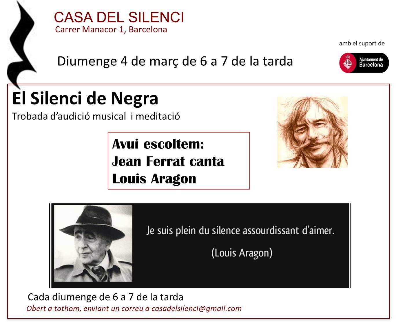 4 de març silenci de negra (imatge)
